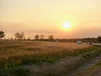 Couché de soleil de septembre