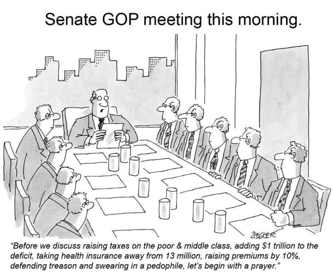 SenateGOPmeetingThisMorning