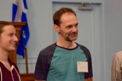 Lauréat du concours d'écriture sur place, catégorie pro, Hugues Morin