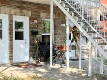 Suspect's frontyard