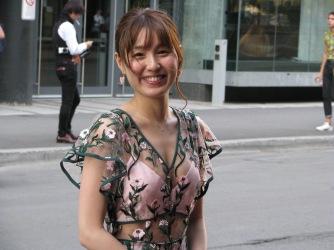 Main actress Minami Matsunaka