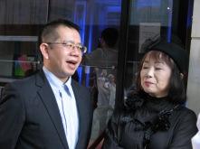 Director Hiroshi Kanno & script-writer Mari Takanashi