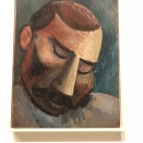 Tête d'homme (Picasso, 1908)