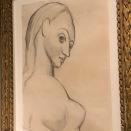 Buste de femme nue (Picasso, 1906)