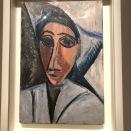 Buste de femme ou de marin (Picasso, 1907)