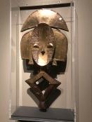 Gardien de reliquaire ngulu (Artiste Kota, Congo, fin XIXe-début XXe s.)