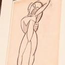 Jeune garçon nu aux bras levés (Picasso, 1907)