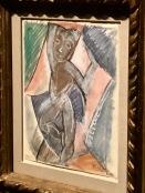 Étude pour nu debout (Picasso, début 1908)