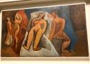 Nu couché avec personnages (Picasso, printemps 1908)