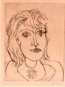 Dora Maar au collier (Picasso,1937)
