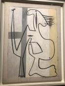 Nu sur fond blanc (Picasso, 1927)