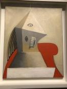 Femme au fauteuil rouge (Picasso, 1929)