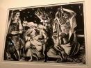 Le minotaure aveugle guidé par une fillette dans la nuit (Picasso, 1934)