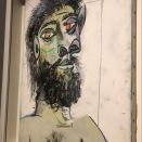 Tête d'homme barbu (Picasso, 1938?)