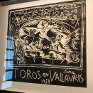Toros en Vallauris (Picasso, 1954)