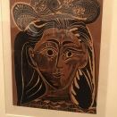 Femme au chapeau à fleurs (Picasso, 1962)