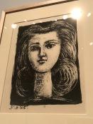 Tête de jeune fille (Picasso, 1945)