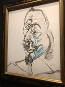 Tête d'un mousquetaire [le cardinal de Richelieu?] (Picasso, 1969)