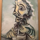 Buste d'homme écrivant (Picasso, 1971/07/07)