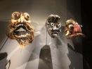 Masques anthropomorphes / d'Exorcisme tovil (Artiste cinghalais et we, Sri Lanka & Côte d'Ivoire, 1ere moitié du XXe s.)