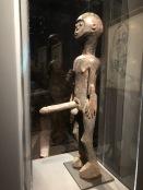 Statue masculine (Artiste djerma, Niger, avant 1932)