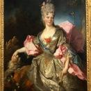 Portrait d'une femme en Astrée, probablement Mary Joséphine Drummond, Condesa de Castelblanco (Nicolas de Largillierre, c.1710-1712)