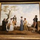 Portrait de famille devant un port (Jacques Sablet le Jeune, 1800)