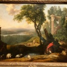 Paysage au porcher (Laurent de La Hyre, 1648)