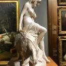 La nymphe Amalthée ou La jeune fille à la chèvre (Pierre Julien, 1786-1787)