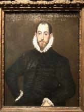 Portrait d'un homme de la maison de Leiva (Domenikos Theotokopoulos, dit le Greco, c.1580-1585)