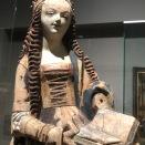 Vierge de l'Annonciation (Allemagne méridionale, c.1500)