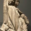 Ange agenouillé (France, Bourbonnais, deuxième tiers du XVe s.)