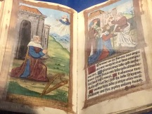 Hore intemperate Virginias Dei génitrices Marie for the use of Rome, 1516, Paris, McGill University Library. Printed on vellum, illustration of King David in prayers and the coronation of King David.