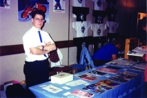 CJP at a convention (AnimeCon? Late 1991)