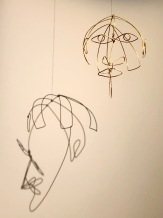John Graham, by Calder, c1931, wire