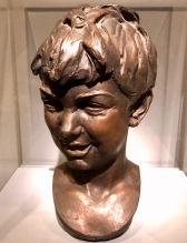 Laughing Boy, by Alexander Stirling Calder, c1905, bronze