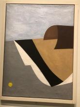 Untitled, Calder, 1930, oil on canvas