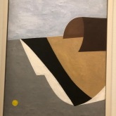 Untitled, Calder, 1930, oil on canvas