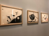 Untitled / The Planet / Space Tunnel, Calder, 1932-33, Ink on paper / Watercolour & ink on paper