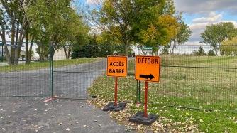 Ancien accès par le Parc Champdoré
