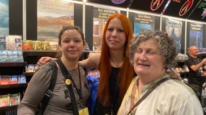 Mariane Cayer, Ariane Gélinas, Francine Pelletier