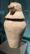 Canopic jar of Djedbastetiuefankh - Hapy (baboon)
