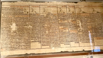 Book of the dead papyrus of Ankhwahibra