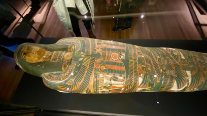 Cartonnage of unknown mummy