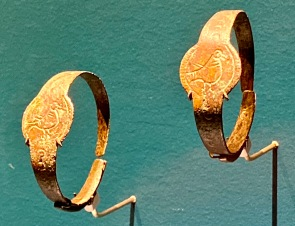 Copper children's bracelets