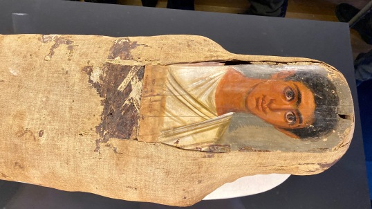 Mummy of a young man