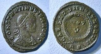Constantinus II, Vot V, pièce 1