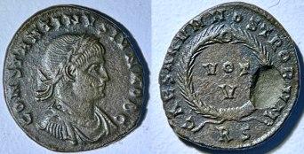 Constantinus II, Vot V, pièce 2